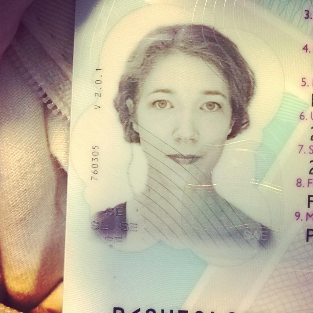 Jag, enligt passpolisen.