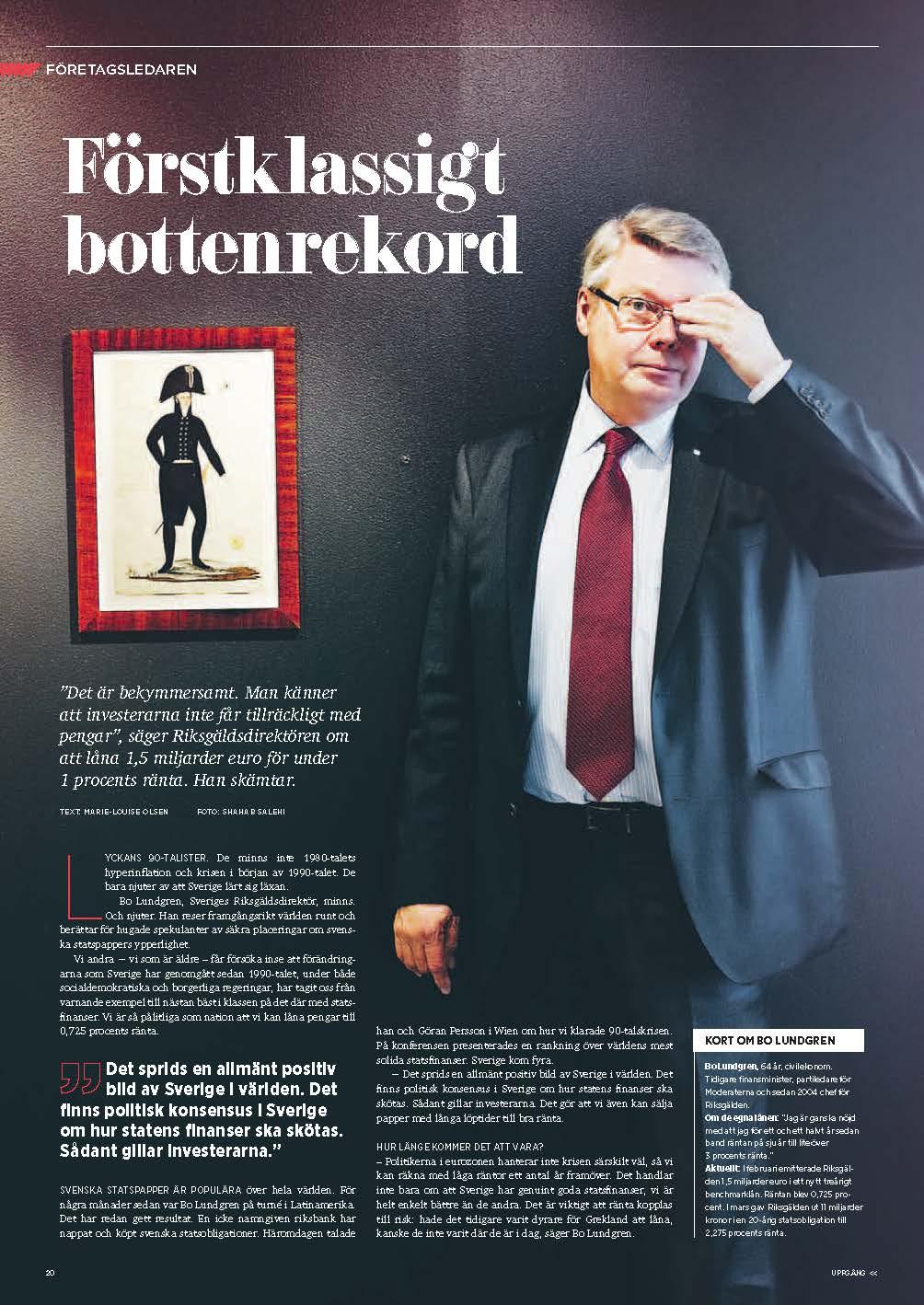 Bottenrekord Bo Lundgren